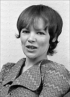 British actress and MP Glenda Jackson seen at her home in Blackheath, London in 1971.  Jackson won Oscars for her performances in Women in Love (1969) and A Touch of Class (1973). In 1992 she became Labour MP for Hampstead and Highgate in London. Photographed by Terry Fincher