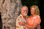 Tree where Billy and Sandra carved their initials 40 years ago, before they were married