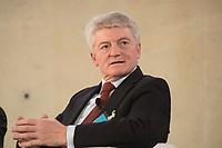 "25 MAY 2012, BERLIN/GERMANY:<br /> Heinrich Hiesinger, Vorstandsvorsitzender ThyssenKrupp AG, Global Business Dialogue ""Beyond Uncertain Times: A Growth Agenda"", axica Konferenzzentrum<br /> IMAGE: 20120525-02-023"