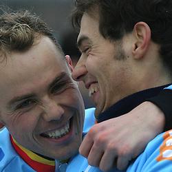 Sven Nys and Sven Vanthourenhout