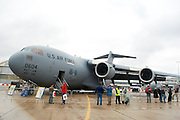 France, Paris, Bourget Airport Salon-du-Bourget The le Bourget Air show June 2009. Boeing C-17 Globemaster III