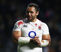 March 9, 2019 - London, England, United Kingdom - London, ENGLAND, 9th March .Billy  Vunipola of England.afterthe Guinness 6 Nations Rugby match between England and Italy at Twickenham  stadium in Twickenham  England on 9th March 2019. (Credit Image: © Action Foto Sport/NurPhoto via ZUMA Press)