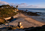 Crystal Cove Beach Coast Orange County California