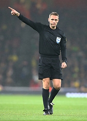 November 16, 2018 - London, England, United Kingdom - London, England - November 16, 2018.Referee Craig Pawson .during Chevrolet Brazil Global Tour International Friendly between Brazil and Uruguay at Emirates stadium , Arsenal Football Club, England on 16 Nov 2018. (Credit Image: © Action Foto Sport/NurPhoto via ZUMA Press)
