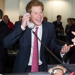 BGC Partners Charity Day Prince Harry on the Trading Floor
