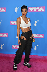 August 20, 2018 - New York, New York, United States - Teyana Taylor arriving at the 2018 MTV Video Music Awards at Radio City Music Hall on August 20, 2018 in New York City  (Credit Image: © Kristin Callahan/Ace Pictures via ZUMA Press)