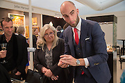 PAT SALING; DRUMMOND MONEY-COUTTS, Art Antiques London Party in the Park, in aid of Great Ormond Street Hospital Childrens Charity. Kensington Gdns opposite the Albert Hall. London. 11 June 2013.