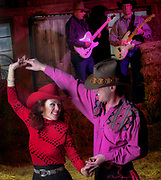 Country line dancing in the Lehigh Valley illustration.<br /> - Photography by Donna Fisher<br /> - ©2020 - Donna Fisher Photography, LLC <br /> - donnafisherphoto.com