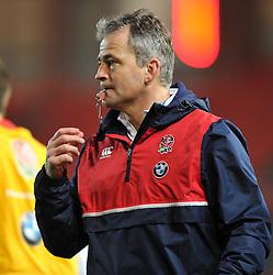 Jon Callard head coach of England U20 - Mandatory by-line: Paul Knight/JMP - Mobile: 07966 386802 - 11/03/2016 -  RUGBY - Ashton Gate Stadium - Bristol, England -  England U20 v Wales U20 - Six Nations U20