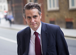 © Licensed to London News Pictures. 09/09/2021. London, UK. Education Secretary GAVIN WILLIAMSON arrives at at the Department for Education in Westminster. The Education had been accused of mixing up Man Utd's Marcus Rashford with Maro Itoje. Photo credit: Ben Cawthra/LNP