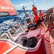 Leg 8 from Itajai to Newport, day 02 on board MAPFRE. 23 April, 2018.
