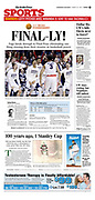 """The Seattle Times, Sports, March 26, 2017, Sunday, """"Final-ly!"""""""