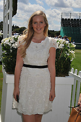KELLY KNATCHBULL at the 27th annual Cartier International Polo Day featuring the 100th Coronation Cup between England and Brazil held at Guards Polo Club, Windsor Great Park, Berkshire on 24th July 2011.