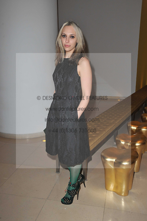 SERENA MATTAR at a Burns Night dinner in aid of cancer charity CLIC Sargent held at St.Martin's Lane Hotel, London on 25th January 2011.