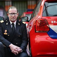 Nederland, Amsterdam , 9 januari 2012..Elie van Strien, mieuwe brandweercommandant...Foto:Jean-Pierre Jans