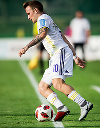 Dino Hotić of Maribor during football match between NK Triglav Kranj and NK Maribor in Round #7 of Prva liga Telekom Slovenije 2018/19, on September 2, 2018 in Kranj, Slovenia. Photo by Vid Ponikvar / Sportida