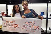 LYDIA SCOLARO; ANNA SCOLARO, Anna Scolaro hosts a charity shopping event at  Dolce and Gabbana, 175 Sloane St. London. In aid of TeamFox.org for Parkinsons. 10 February 2016