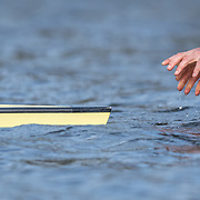 start <br /> <br /> Crews prepare for Sunday's 165th Boat Race between Oxford and Cambridge, River Thames, London, Friday 5th April 2019. © Copyright photo Steve McArthur / www.photosport.nz