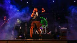 Dead Fish se apresenta no Palco Atlântida durante a 22ª edição do Planeta Atlântida. O maior festival de música do Sul do Brasil ocorre nos dias 3 e 4 de fevereiro, na SABA, na praia de Atlântida, no Litoral Norte gaúcho.  Foto: Lucas Uebel / Agência Preview