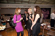 EMMA CROSBY; JENNI FALCONER; LYNN LLOYD; , Tea party in celebration of Project D by Dannii and Tabitha at Harvey Nicholls. Knightsbridge. London. 26 October 2010.  ( This is the launch of a fragrance by Dannii Minogue and Tabitha Somerset Webb ..) and -DO NOT ARCHIVE-© Copyright Photograph by Dafydd Jones. 248 Clapham Rd. London SW9 0PZ. Tel 0207 820 0771. www.dafjones.com.