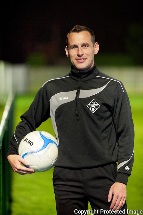 367757-Voetballer Sven Verschoren FC Heikant