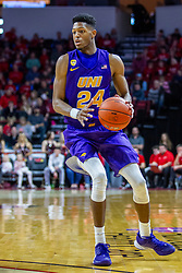 NORMAL, IL - December 31: Isaiah Brown during a college basketball game between the ISU Redbirds and the University of Northern Iowa Panthers on December 31 2019 at Redbird Arena in Normal, IL. (Photo by Alan Look)