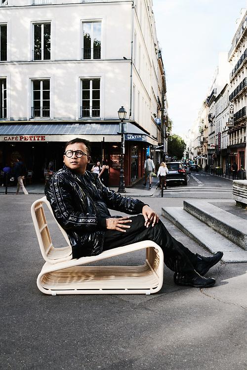 Budi Pradono. Paris, France. September 11, 2019.