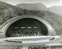 1926 Hollywood Bowl's first shell