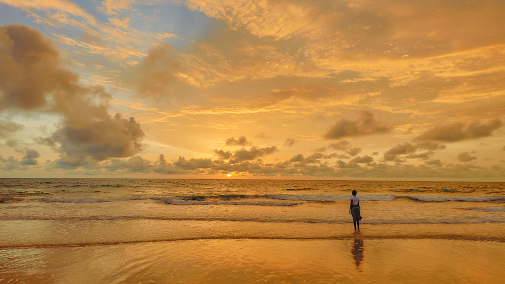 Golden Sunset in Gambia