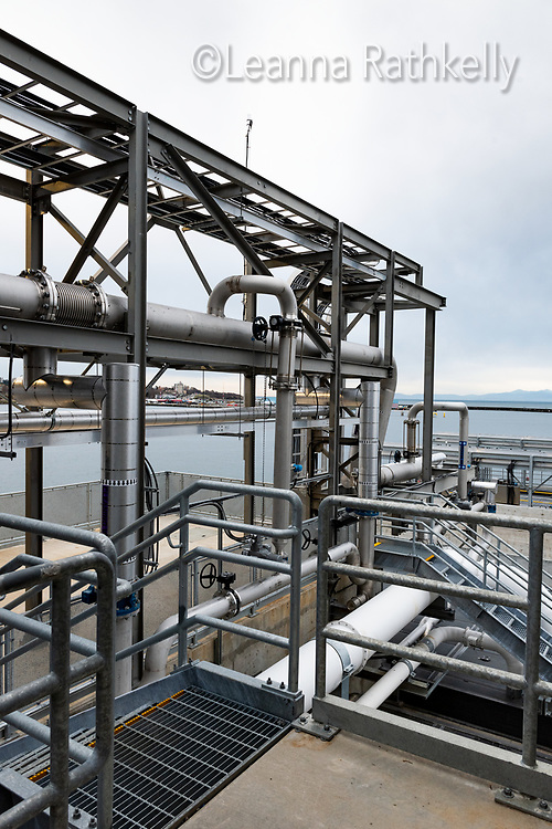 The new CRD Wastewater Treatment Plant at McLoughlin Point in Victoria, BC features state of the art systems.