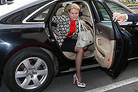 Danish Prime Minister Helle Thorning Schmidt arrives at the Party of European Socialists (PES) meeting ahead of a European Union Summit in Brussels, Belgium, 27 June 2013.