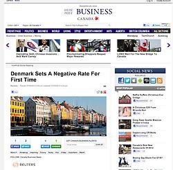 Huffington Post; Copenhagen in winter view