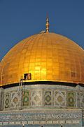 Israel, Jerusalem Old City, Dome of the Rock on Haram esh Sharif (Temple Mount)