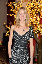 LADY CANDIDA BALFOUR at the Sugarplum Dinner - The event was for the launch of Sugarplum Children, a new website and fundraising initiative for children who live with type 1 diabetes, and to raise money for JDRF (Juvenile Diabetes Research Foundation) held at One Mayfair, 13A North Audley Street, London on 20th November 2013.