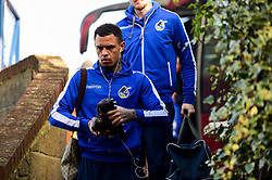 Jonson Clark-Harris of Bristol Rovers arrives at Roots Hall prior to kick off - Mandatory by-line: Ryan Hiscott/JMP - 02/02/2019 - FOOTBALL - Roots Hall - Southend-on-Sea, England - Southend United v Bristol Rovers - Sky Bet League One