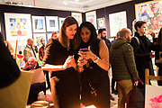 SARAH POPE; LEANNE WILLIAMSON, Preview evening  in support of The Eve Appeal, a charity dedicated to protecting women from gynaecological cancers. Bonhams Knightsbridge, Montpelier St. London. 29 April 2019