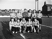 1954 - Drumcondra F.C. v Evergreen United at Tolka Park