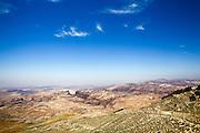 Overlooking Wadi Zered Western Jordanian Landscape
