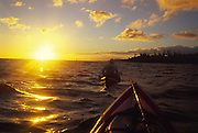 Kayaking, Poipu, Kauai, Hawaii<br />