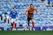 Gavin Whyte of Hull City in action during the EFL Sky Bet League 1 match between Portsmouth and Hull City at Fratton Park, Portsmouth, England on 23 January 2021.