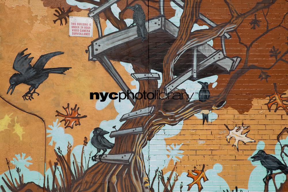 NYC Graffiti Williamsburg