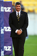 Hurricanes coach Colin Cooper.<br /> Super 14 rugby match - Hurricanes v Western Force at Westpac Stadium, Wellington. Saturday, 20 February 2010. Photo: Dave Lintott/PHOTOSPORT
