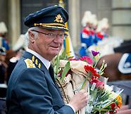 King Carl Gustaf celebrates his birthday, 30-04-2018