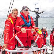 Melbourne stopover. Pro-Am race on board MAPFRE. Photo by Ugo Fonolla/Volvo Ocean Race. 30 December, 2017.