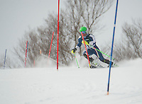 MJ's Memorial Lafoley Slalom at Cannon.  Karen Bobotas Photographer