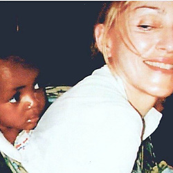"""Madonna releases a photo on Instagram with the following caption: """"Happy Birthday to My Beautiful baby  Boy!! \ud83c\udf89\ud83c\udf89\ud83c\udf08\ud83c\udf08\ud83d\ude02\ud83d\udc95\ud83d\udc98\ud83d\udc95\ud83d\udc98\ud83d\udc95 David Banda!! \ud83e\udd84\ud83e\udd84\ud83e\udd84\ud83c\udf82\ud83c\udf82\ud83d\udc0e\ud83d\udc0e\ud83d\udc0e I wish I could stilll carry you Bapu  Style! \u2665\ufe0f\ud83d\udcaf\u2665\ufe0f\ud83d\udcaf\u2665\ufe0f\ud83d\udcaf\u2665\ufe0f\ud83c\udf39\ud83c\uddf2\ud83c\uddfc\ud83c\uddf2\ud83c\uddfc\ud83c\uddf2\ud83c\uddfc\u2665\ufe0f\ud83d\ude4f\ud83c\udffb"""". Photo Credit: Instagram *** No USA Distribution *** For Editorial Use Only *** Not to be Published in Books or Photo Books ***  Please note: Fees charged by the agency are for the agency's services only, and do not, nor are they intended to, convey to the user any ownership of Copyright or License in the material. The agency does not claim any ownership including but not limited to Copyright or License in the attached material. By publishing this material you expressly agree to indemnify and to hold the agency and its directors, shareholders and employees harmless from any loss, claims, damages, demands, expenses (including legal fees), or any causes of action or allegation against the agency arising out of or connected in any way with publication of the material."""