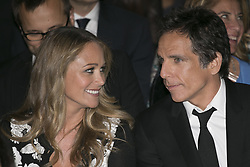 June 19, 2014 - Taormina, Italy - BEN STILLER and his wife CHRISTINE TAYLOR attends the Baume & Mercier - Promesse Taormina Award ceremony during the 60th Taormina Film Fest. (Credit Image: © Manuel Romano/NurPhoto/ZUMAPRESS.com)