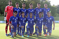 Israel team photo during the UEFA European Under 17 Championship 2018 match between Israel and Italy at St George's Park National Football Centre, Burton-Upon-Trent, United Kingdom on 10 May 2018. Picture by Mick Haynes.