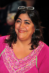 © licensed to London News Pictures. LONDON UK  05/06/11.Gurinder Chadha attends the premiere of Kung Fu Panda 2 at Westfield shopping center London. Please see special instructions for usage rates. Photo credit should read ALAN ROXBOROUGH/LNP