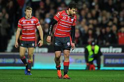 Danny Cipriani of Gloucester Rugby- Mandatory by-line: Nizaam Jones/JMP - 22/02/2019 - RUGBY - Kingsholm - Gloucester, England- Gloucester Rugby v Saracens - Gallagher Premiership Rugby